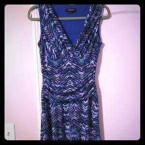 Nine West blue floral dress